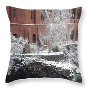The Lone Sentinel - Spokane Washington Throw Pillow