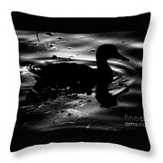 The Loner Throw Pillow