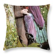 The Long Engagement Throw Pillow