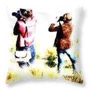 The Long Grass Throw Pillow