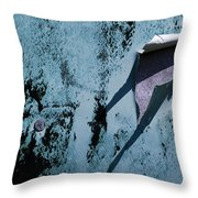 The Long Shadow Throw Pillow