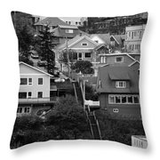 The Long Walk Home Throw Pillow