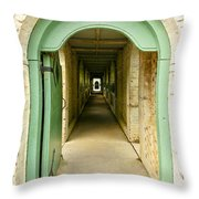The Long Welcome Throw Pillow