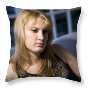 The Look 13 Throw Pillow
