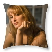 The Look 8 Throw Pillow