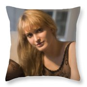 The Look 9 Throw Pillow