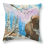 The Look Back Throw Pillow