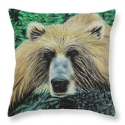 The Look Throw Pillow