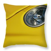 The Look Of The Machine Throw Pillow