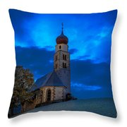 The Lord Is My Light - The Italian Dolomites Throw Pillow