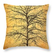 The Lord Jesus Is The Tree Of Life Throw Pillow