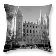 The Lord's House Throw Pillow