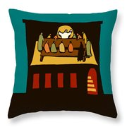 The Upper Room Throw Pillow