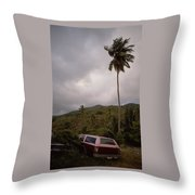 The Lost Cars Throw Pillow