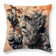 The Lost City - The Sentinel Throw Pillow