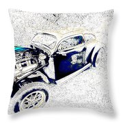 The Love Bug Throw Pillow