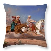 The Love Chase Throw Pillow