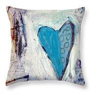The Love Inside Throw Pillow