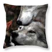 The Love Of Your Mate Throw Pillow