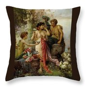 The Love Offering Throw Pillow