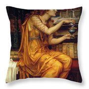 The Love Potion Throw Pillow