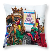 The Lure Of Beads Throw Pillow