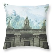 The Magic Flute Throw Pillow