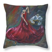 The Magic Of Dance Throw Pillow