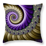 The Magic Shell Throw Pillow