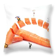 The Magic Show Little People Big Worlds Throw Pillow