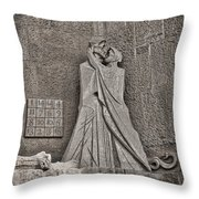 The Magic Square Throw Pillow