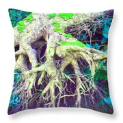 The Magical Hobbit Tree Throw Pillow