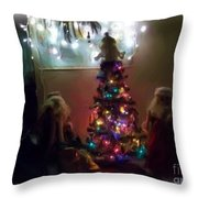 The Magical Tree Throw Pillow