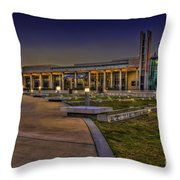 The Mahaffey Theater Throw Pillow by Marvin Spates