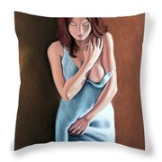 The Maiden Prints Only Throw Pillow