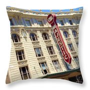 The Majestic Theater Dallas #1 Throw Pillow