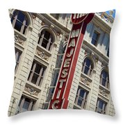 The Majestic Theater Dallas #2 Throw Pillow