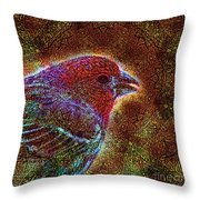 The Majesty Of Lil Things Throw Pillow