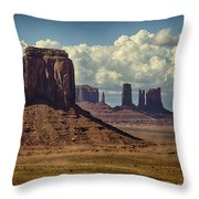 The Majesty Of Monument Valley  Throw Pillow