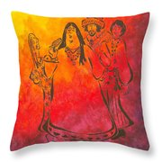 The Mamas And Papas Throw Pillow by Pamela Allegretto
