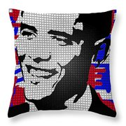 The Man Who Killed Osama  Throw Pillow by Robert Margetts
