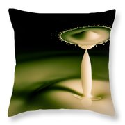 The Man With A Huge Hat Throw Pillow
