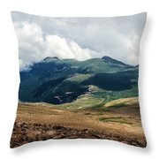 The Manitou And Pikes Peak Railway Cog Descends Throw Pillow