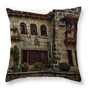 The Manor Throw Pillow