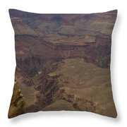 The Many Shapes Of Nature Throw Pillow