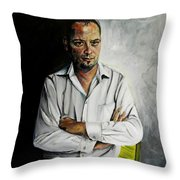 The Marketing Man Throw Pillow