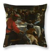 The Marriage At Cana Throw Pillow