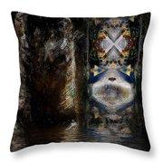 The Masquerade Throw Pillow