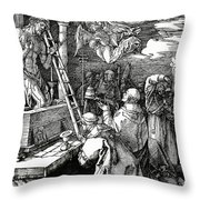 The Mass Of St. Gregory Throw Pillow