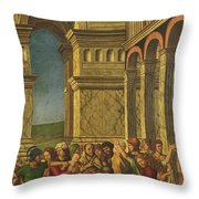 The Massacre Of The Innocents Throw Pillow